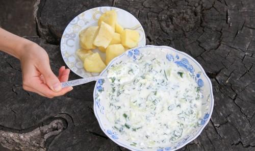 Гуркенсалат - огуречный салат
