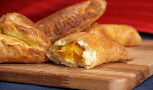 Несладкие пирожки с тыквой в духовке - Плечинде