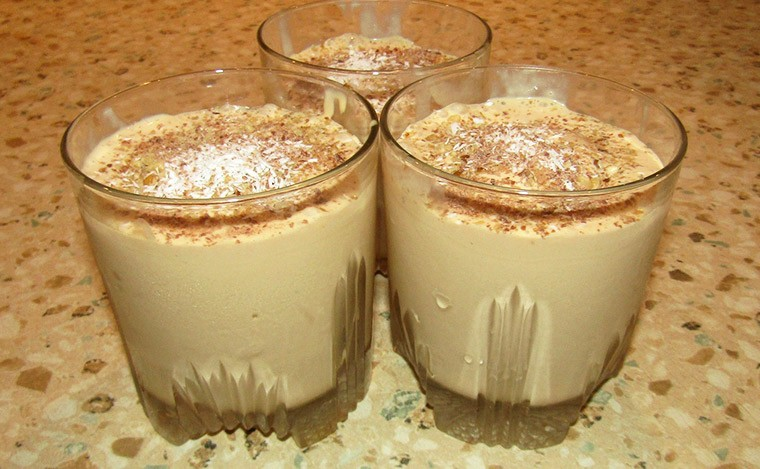 Десерт-мороженое «Крем-брюле»