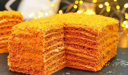 Торт «Карамелька»