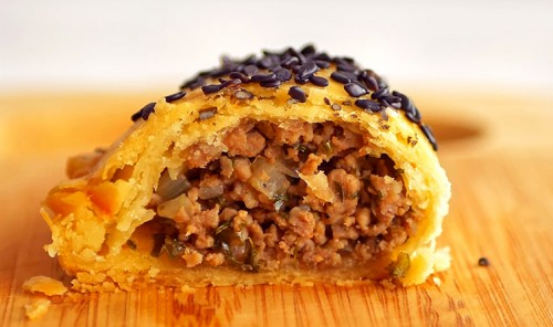 Пирожки с мясом «Самбусаки»
