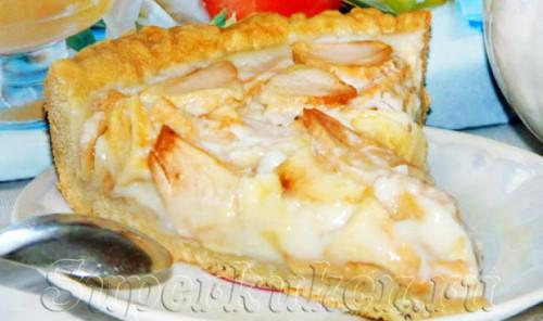 Пирог с яблоками «Цветаевский»
