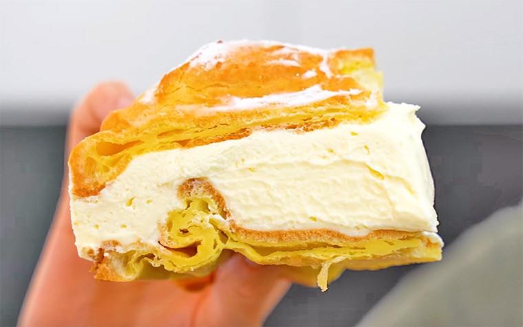 Торт с заварным кремом «Карпатка»