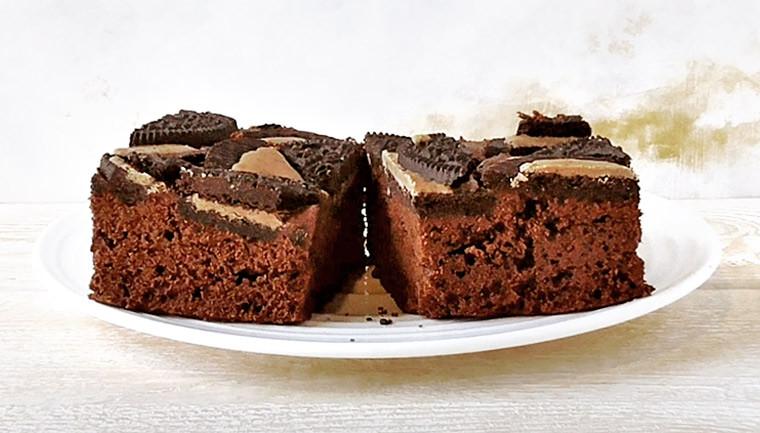 Брауни с печеньем «Орео»