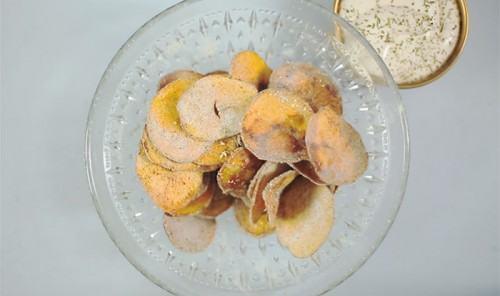 Пряные домашние картофельные чипсы