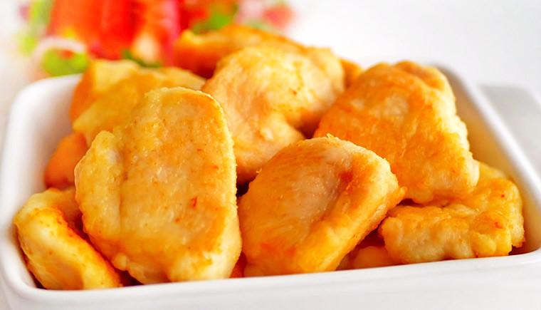Карбонад из куриного филе на сковороде