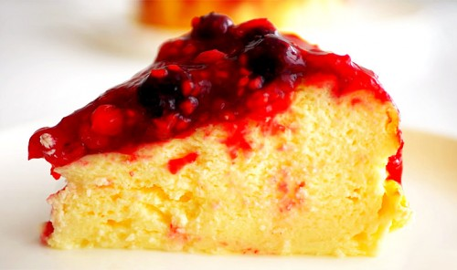 Йогуртовый пирог без муки и масла
