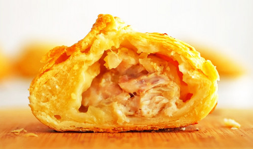 Караимские пирожки с мясом в духовке