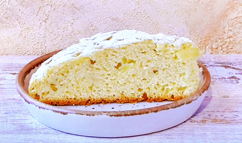 Яблочный пирог «Растрёпка»