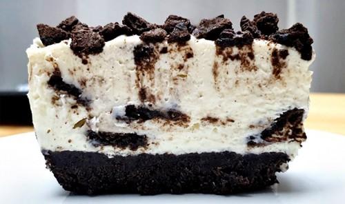 Творожный чизкейк с печеньем «Орео»