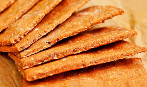 Хрустящие ржаные хлебцы в духовке