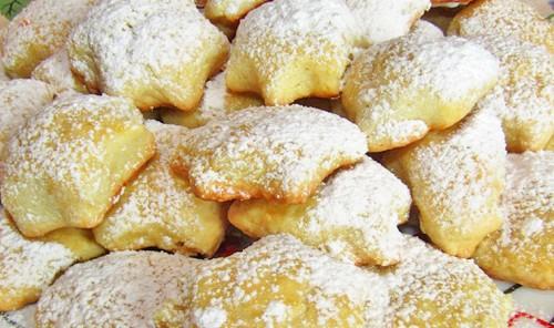 Домашнее лимонное печенье