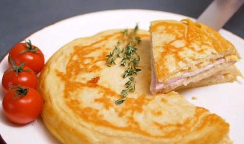 Идеальный омлет на завтрак
