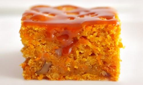 Морковный пирог - влажный, вкусный, ароматный