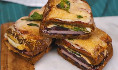 Быстрый суперсытный сэндвич