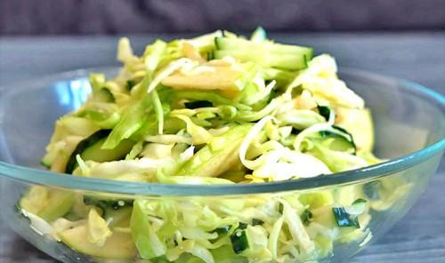 Капустный салат по-новому