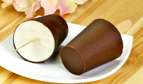 Пломбир с шоколадом без консервантов и красителей
