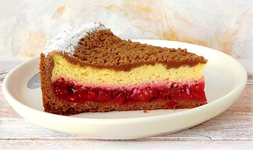 Немецкий сливовый пирог