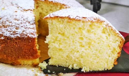 Итальянский бисквитный лимонный пирог «12 ложек»