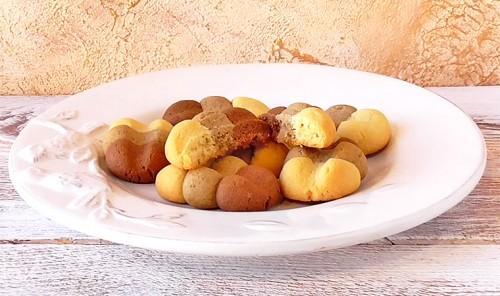 Песочное печенье «Тройное удовольствие»