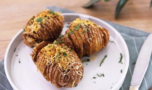 Хрустящий картофель с пармезаном в духовке