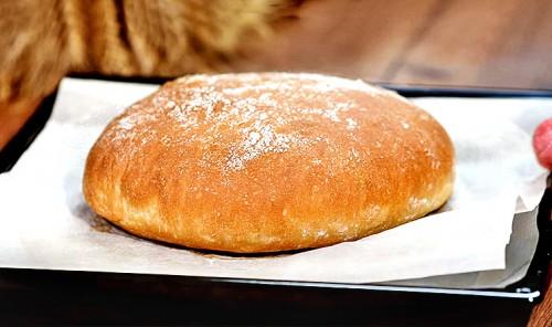 Домашний хлеб на воде и дрожжах в духовке