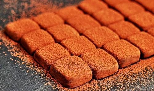 Трюфельные шоколадные конфеты
