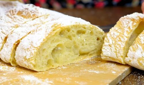 Чиабатта – хлеб без замеса