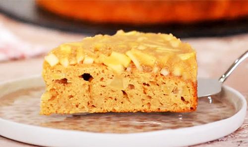 Яблочный пирог с яблочным желе