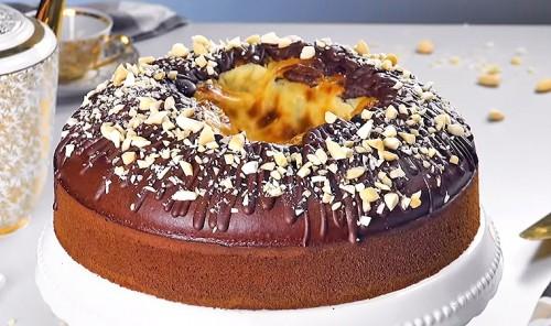 Торт «Шоколадный вулкан»