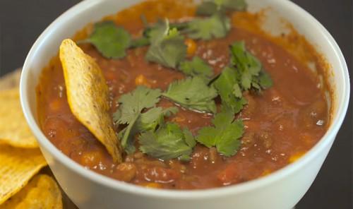 Суп чили с мясом