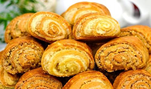 Печенье с орехами «Гата»