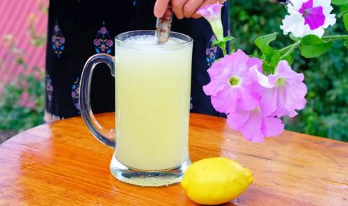 Освежающий летний лимонад