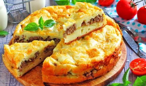Заливной пирог - подборка лучших рецептов