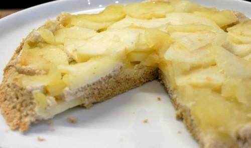 Яблочный пирог за 10 минут