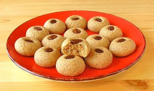 Кофейное печенье на растительном масле