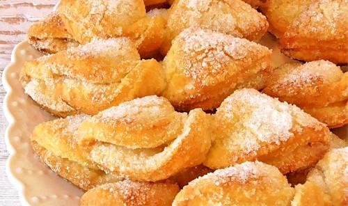 Творожное печенье «Бантики»