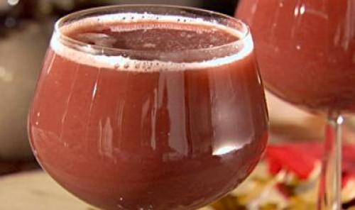 Бордовый коктейль