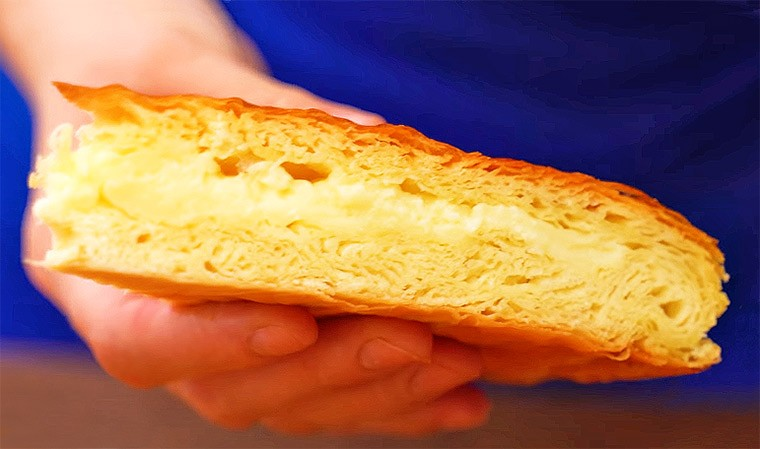 Пирог с заварным кремом «Фытыр»