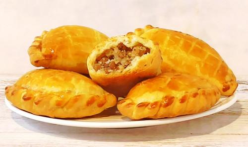 Пирожки с гречкой и яйцами в духовке