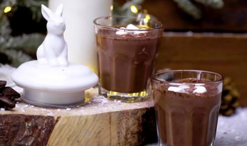 Горячий шоколад с вином