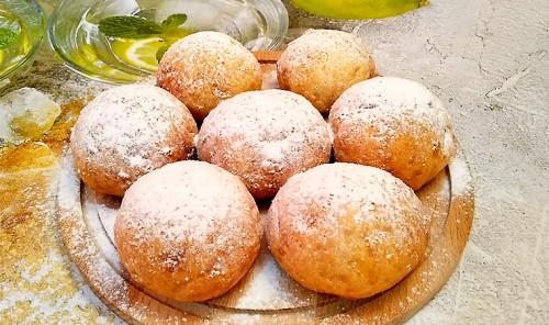 Пышные творожные булочки на завтрак