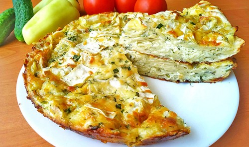 Сырный пирог из лаваша (ленивая ачма)
