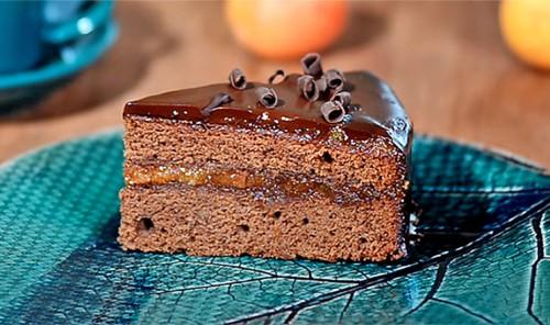 Шоколадный торт «Захер»
