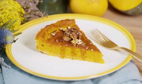 Удивительно вкусный тыквенный пирог
