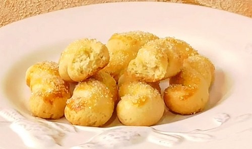 Песочное печенье на сметане «Завитушки»