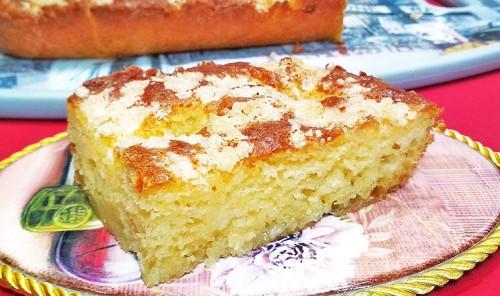 Французский сахарный пирог