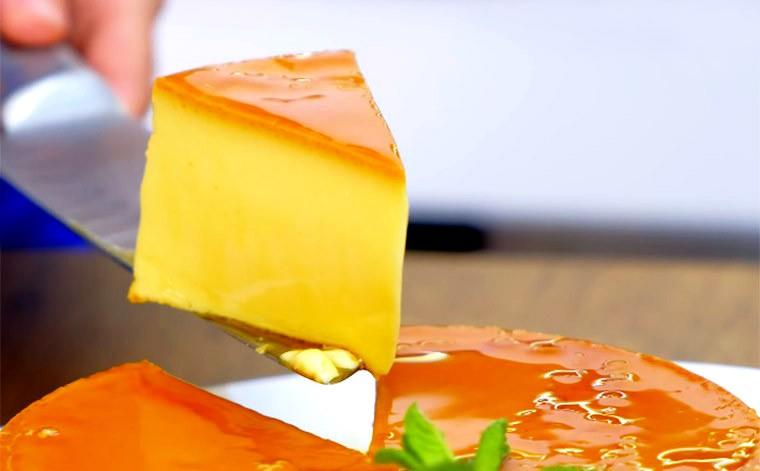 Десерт из молока и яиц «Флан»