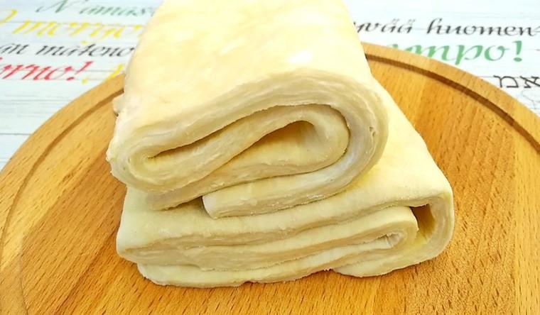 Слоеное тесто без замеса