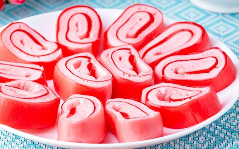Желейные конфеты из трех ингредиентов